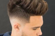 14 if you like longer hair, prefer texture spiky hair and a medium fade like here