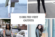15 Awesome Looks With Belted Vests