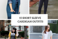 15 Classic Outfits With Short Sleeve Cardigans