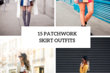 15 Patchwork Skirt Outfit Ideas For Stylish Women