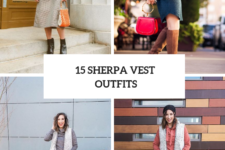 15 Sherpa Vest Outfits For Stylish Women