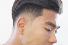15 an undercut fade, a slicked back plsu edge up looks modern and catchy while being rather long