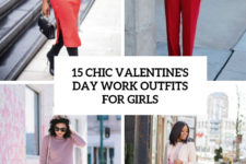 15 chic valentine's day work outfits for girls cover