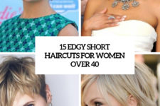 15 edgy short haircuts for women over 40 cover