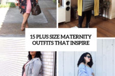 15 plus size maternity outfits that inspire cover