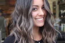 15 stunning rich brown hair with ashy brown balayage is a stylish and bold modern idea