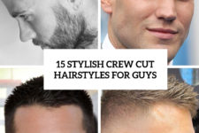 15 stylish crew cut hairstyles for guys cover