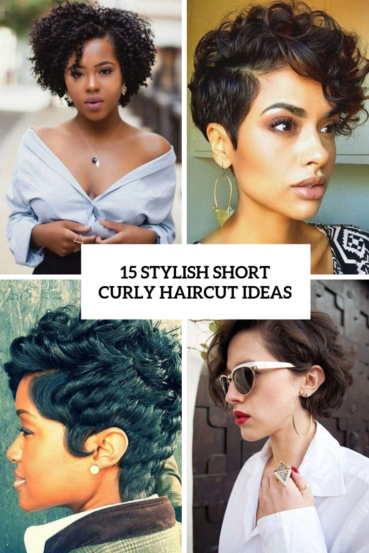 15 Stylish Short Curly Haircut Ideas - Styleoholic