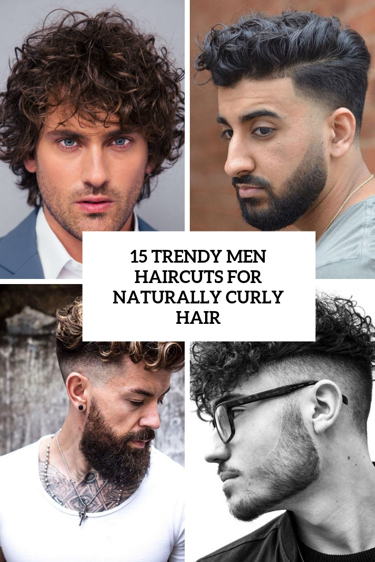 trendy men haircuts for naturally curly hair cover