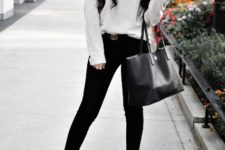black tote bag is a must for any girl