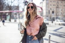bomber jacket look for spring