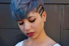 pixie undercut hairstyle for a daring woman