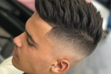 04 a spiky hair undercut looks impressive but you'll have to style your hair each time