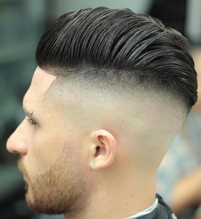 a combover pompadour is a bold modern idea with an elegant twist