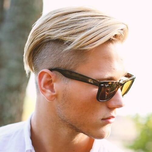a combover undercut hairstyle is a tasteful idea adapted to modern trends