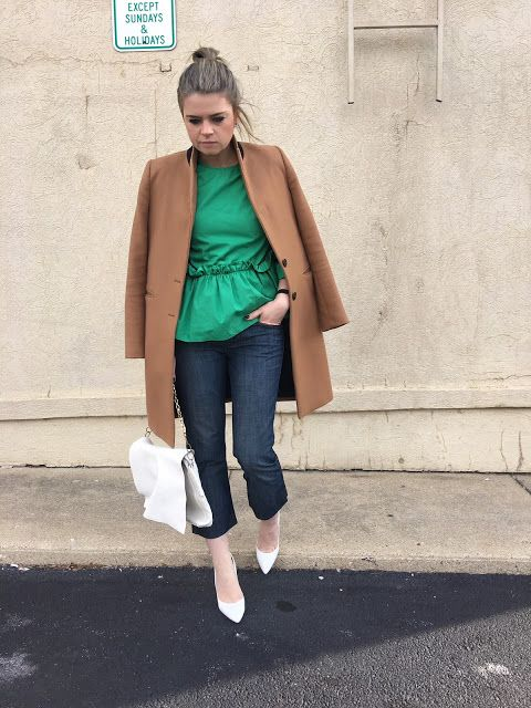 an oversized white soft clutch is a chic idea for this spring