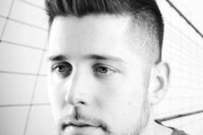 09 a fade haircut is a cool modern idea, which is suitable for different hair types and looks cool