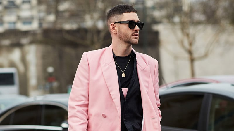 a high and tight Caesar haircut is a contemporary look with a fade