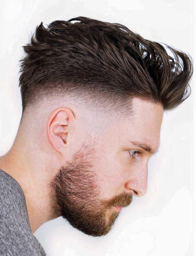 15 Bold Faux Hawk Haircuts For Men - Styleoholic