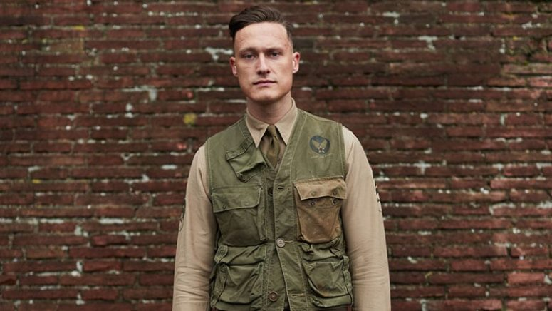 a high and tight combo-over is dapper and elegant, with a retro twist