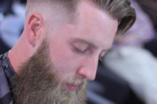 11 this undercut fade hairstyle is another very popular men's hipster haircut, it contrasts dramatically with shaved sides