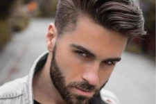 12 a medium length undercut haircut is a balanced style with many styling options to try