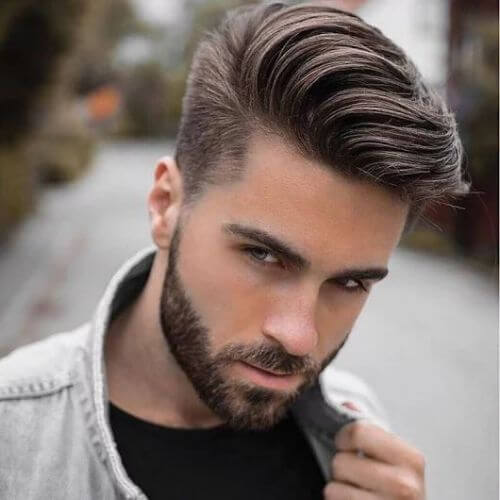 a medium length undercut haircut is a balanced style with many styling options to try