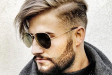 13 a side swept undercut looks veyr dapper and very modern, you may style it easily