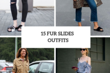15 Cool Outfits With Fur Slides