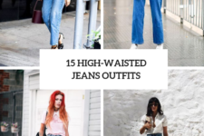 15 Fashionable Outfits With High-Waisted Jeans