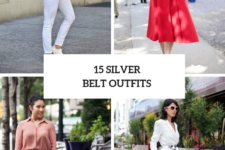 15 Women Outfits With Silver Belts