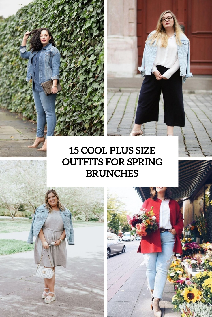 435ce3c61cc 15 Cool Plus Size Outfits For Spring Brunches - Styleoholic
