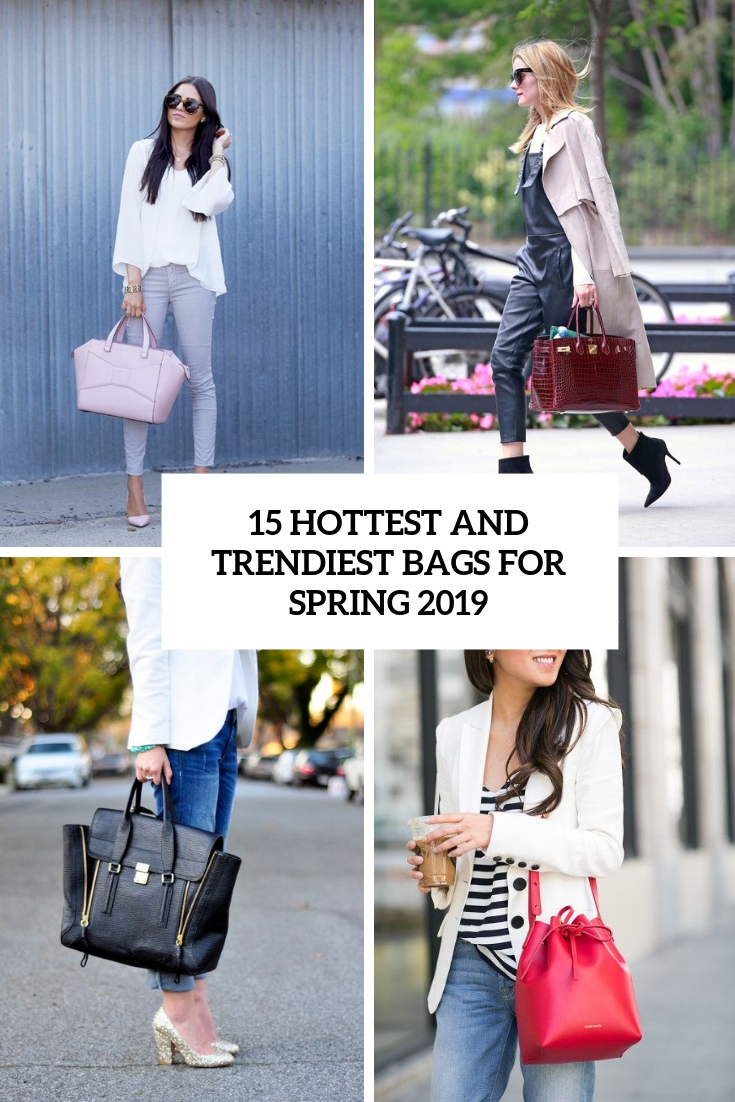 hottest and trendiest bags for sprign 2019 cover