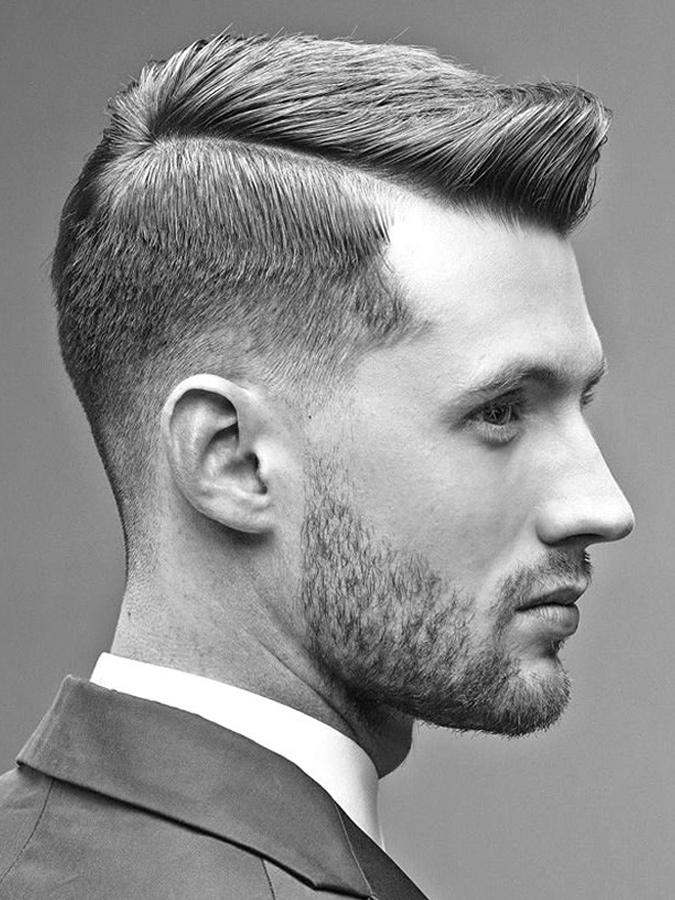 an Ivy League cut gives you a preppy look that has become a common sight in the forces over the years – most notably during World War II