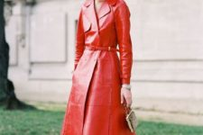 bright spring look with a trench outer garment