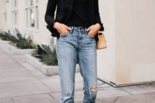 an outfit in a pair of cool cropped jeans