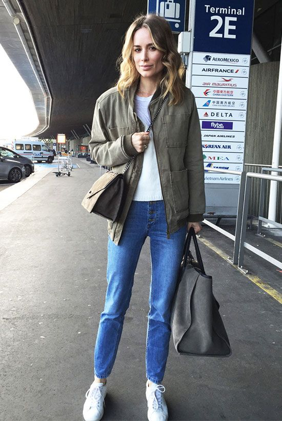 3aefc4711f4 15 Stylish And Comfy Spring Airport Outfits - Styleoholic