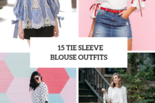15 Cute Outfits With Tie Sleeve Blouses