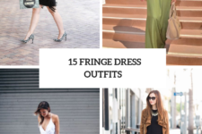 15 Outfits With Fringe Dresses For This Spring