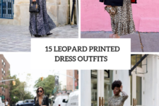 15 Wonderful Looks With Leopard Printed Dresses
