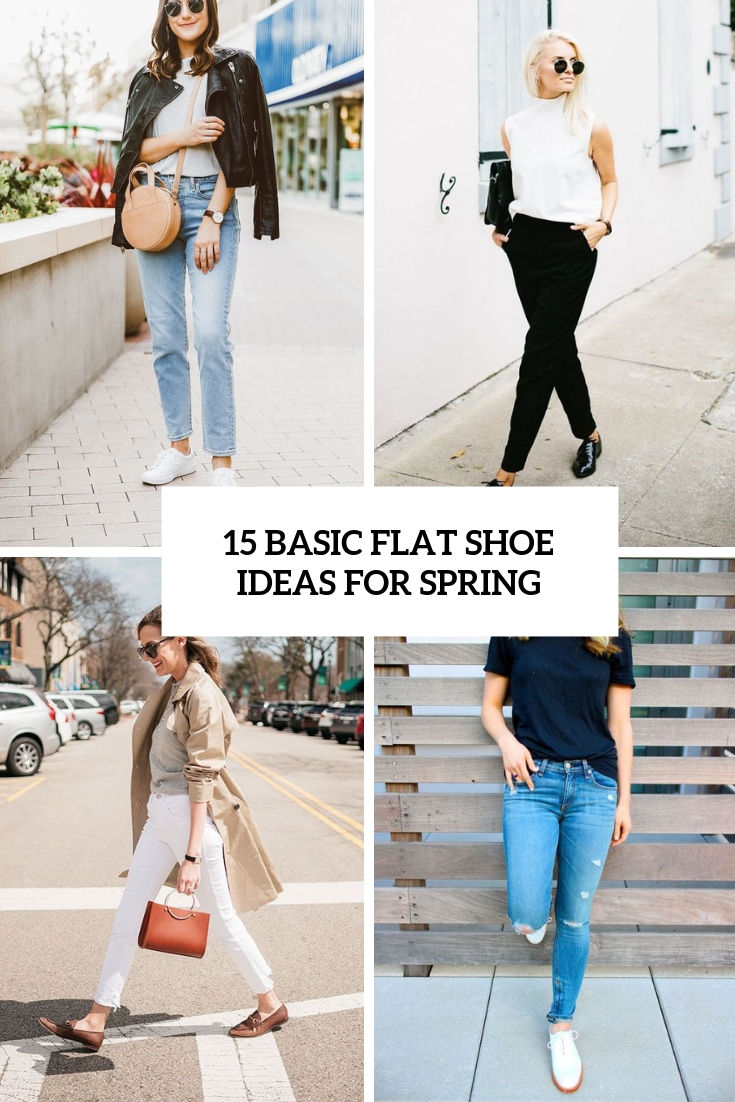 basic flat shoe ideas for spring cover