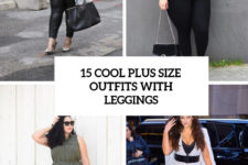 15 cool plus size outfits with leggings cover
