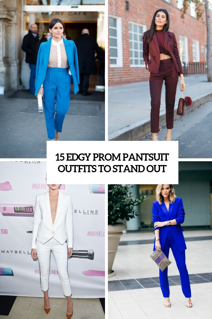 15 Edgy Prom Pantsuit Outfits To Stand Out