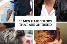 15 men hair colors that are on trend cover