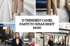 15 trendiest camel pants to wear right now cover