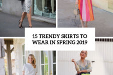 15 trendy skirts to wear in spring 2019 cover