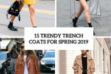 15 trendy trench coats for spring 2019 cover
