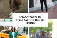 17 edgy ways to style a white tee for spring cover