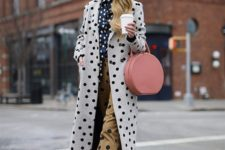 a polka dot outfit for spring-summer days