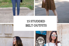 15 Outfit Ideas With Studded Belts